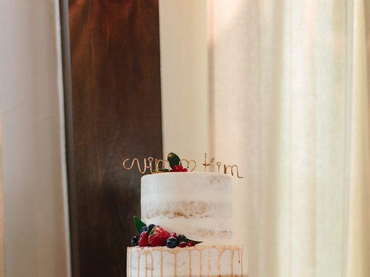 Tmx 1499543490395 Vimal Kim Wed 434 Austin, Texas wedding cake