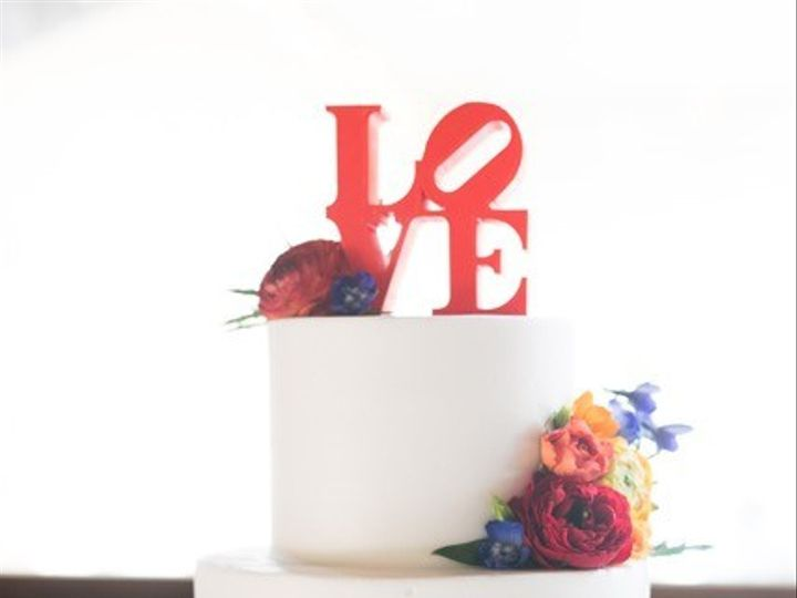 Tmx 1499543532349 Love Cake Austin, Texas wedding cake