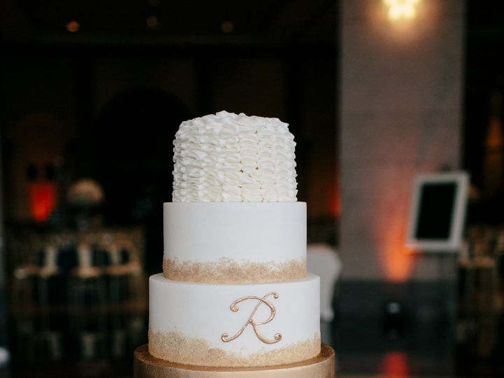 Tmx 1508877921065 1283ct078a5122 Austin, Texas wedding cake