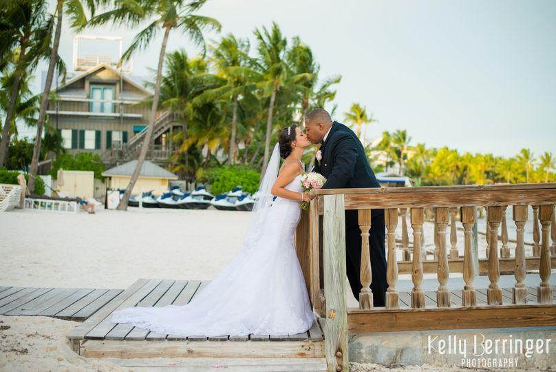 Destination Wedding held at The Reach in Key West Florida