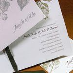 Tmx 1288205658773 GreenLeaves Clifton wedding invitation