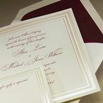 Tmx 1288205659836 PearlizedFrame Clifton wedding invitation