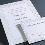 Tmx 1288205659961 PearlizedHoundstooth Clifton wedding invitation
