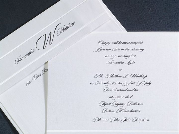 Tmx 1303932609563 T1121xL Clifton wedding invitation