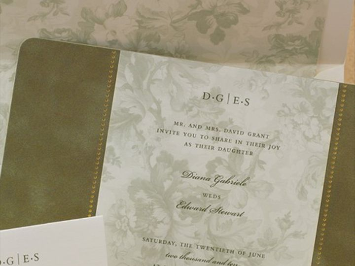 Tmx 1303932622985 T1718L Clifton wedding invitation