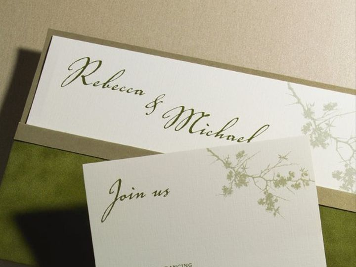 Tmx 1303932626782 T1720xL Clifton wedding invitation