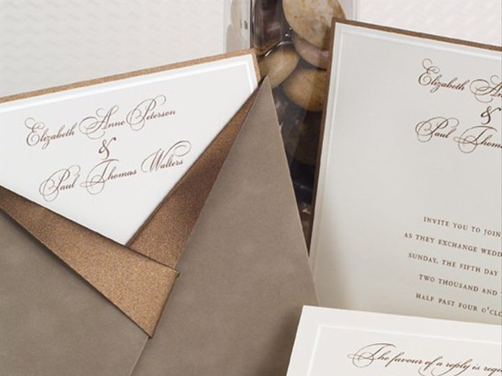 Tmx 1303932630610 T1721L Clifton wedding invitation