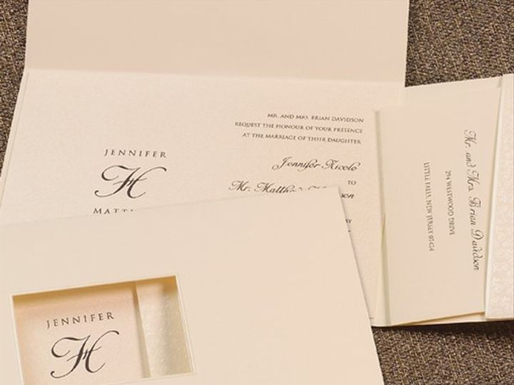 Tmx 1303932658642 T5082L Clifton wedding invitation