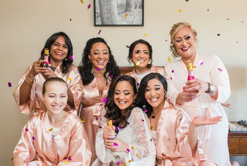 Bridesmaid's Confetti