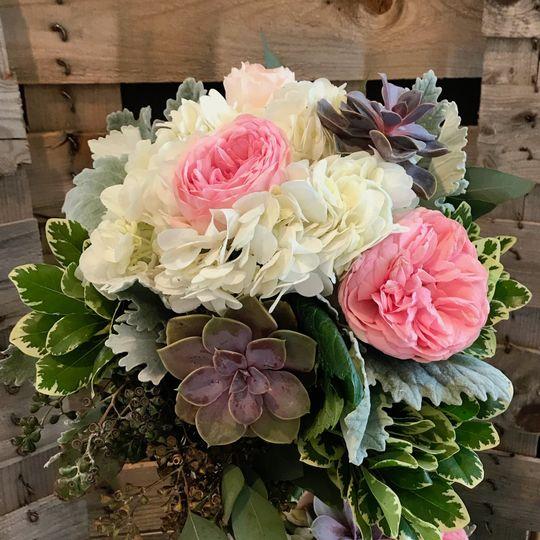 Succulents & Roses Bridesmaid