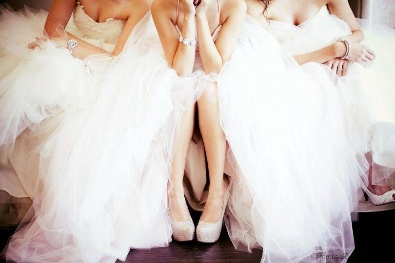 Frilly dresses