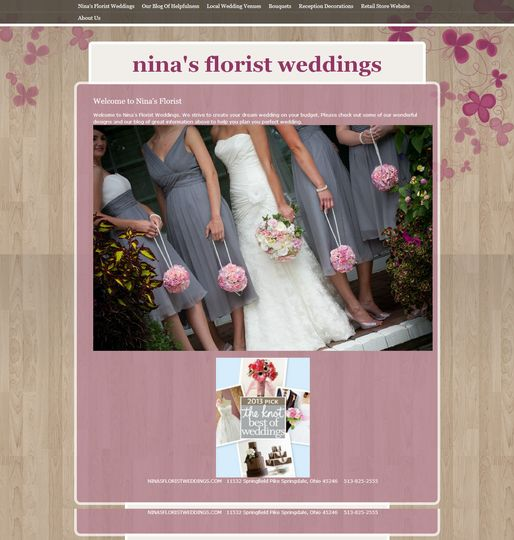 ninas florist wedding
