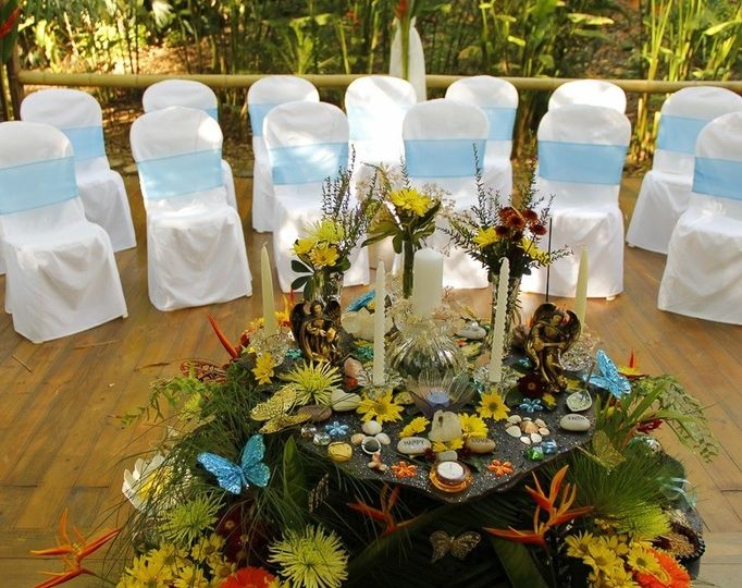 Altar at the Waterfall Deck