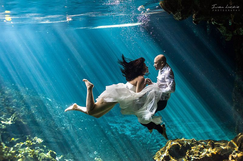 nootim underwater trash the dress photographer