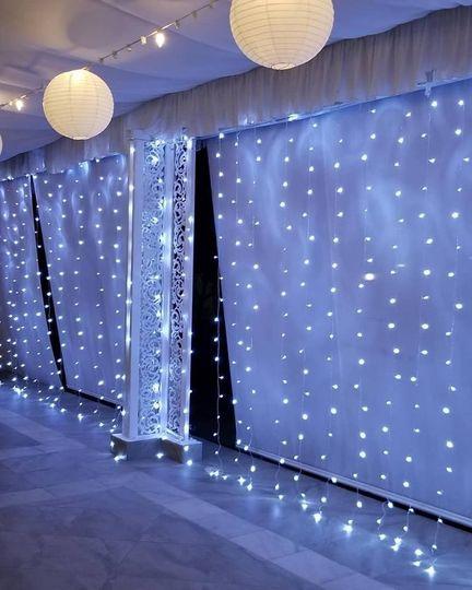 Twinkling fairy lights