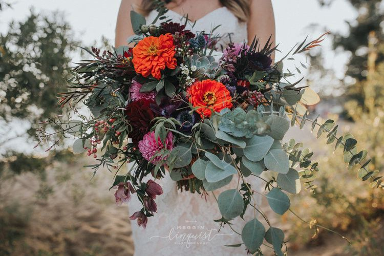 bohemian style lake wedding reno lake tahoe weddin
