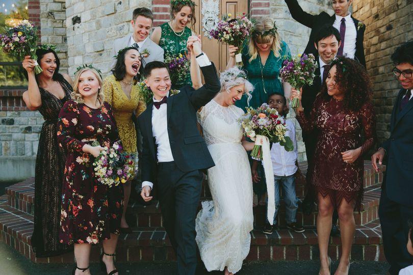 jayci bridal party