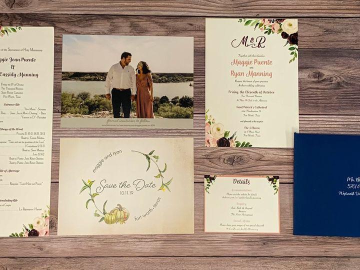 Tmx 0c5f47e0 6cd2 46e6 93ea Fd554da1241c 51 1991509 161228118637843 Fort Worth, TX wedding invitation