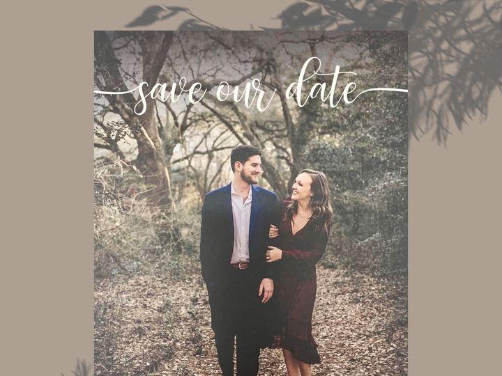 Tmx Elegant Minimalist Save The Date Invitation 51 1991509 161228174049328 Fort Worth, TX wedding invitation