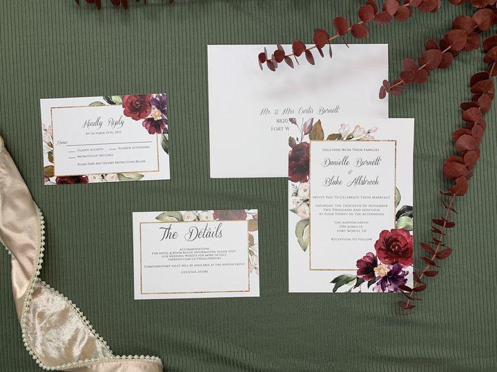 Tmx Img 2435 51 1991509 161228174554283 Fort Worth, TX wedding invitation
