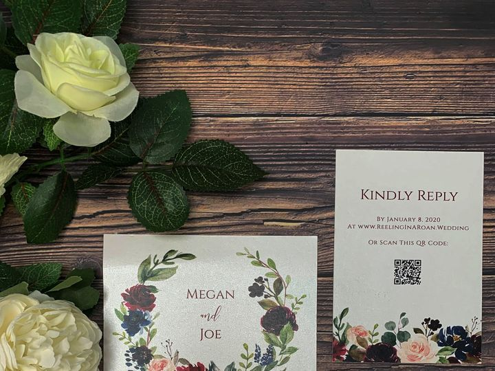 Tmx Megan Edited 2 51 1991509 160201433647276 Fort Worth, TX wedding invitation