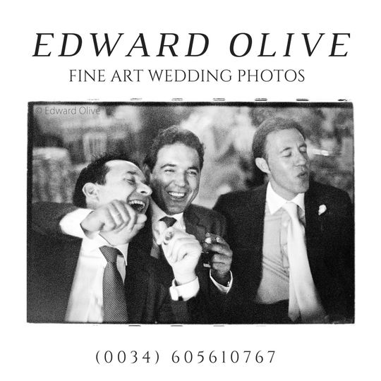 Edward Olive English fine art wedding photographer based out of Madrid Spain offers exclusive...
