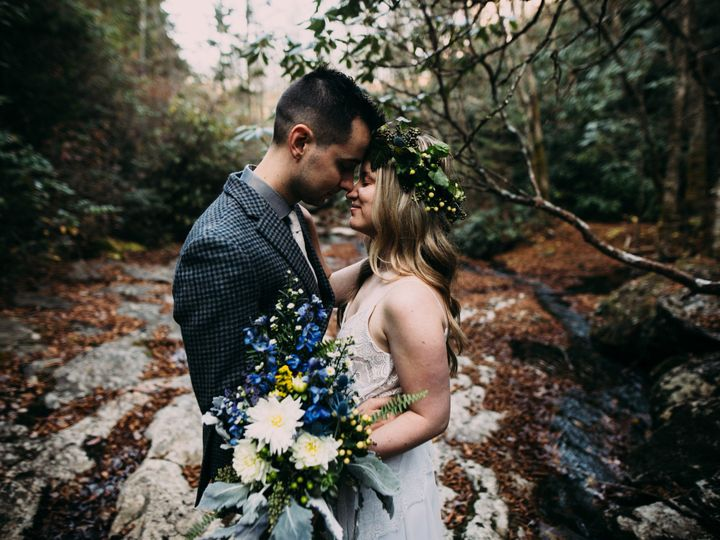 Tmx 1489073526086 Jd Heads Touching After Cer Asheville, North Carolina wedding officiant