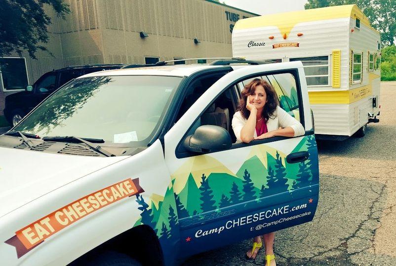 Camp cheesecake!