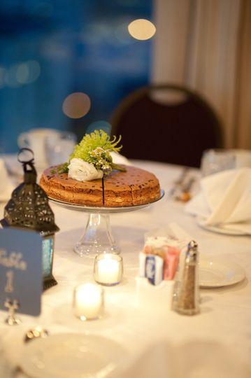 Centerpiece cheesecake