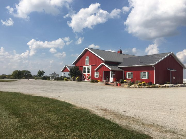Red Barn parking