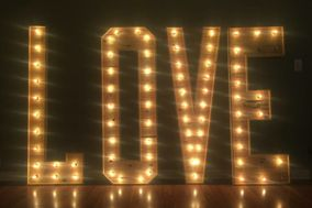 Love Sign Rental
