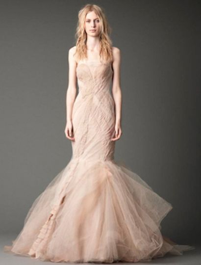 This Vera Wang Joanna X 121212 wedding dress is such an elegant, couture creation!  The gown has a...