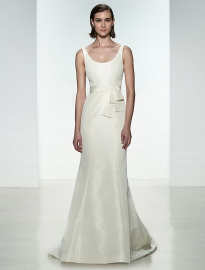 This Amsale Cate A669 wedding dress is perfect for any wedding venue!  The construction and...