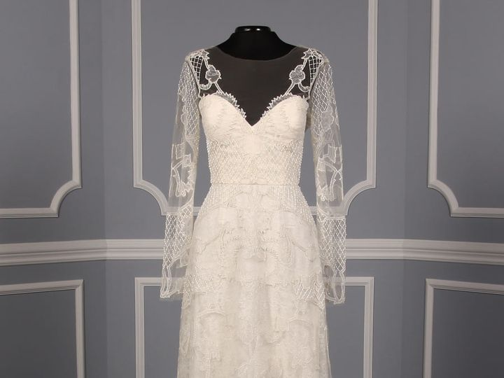 Tmx 1503523237468 Monique Lhuillier Karlotta Wedding Dress Platinum  Enola wedding dress