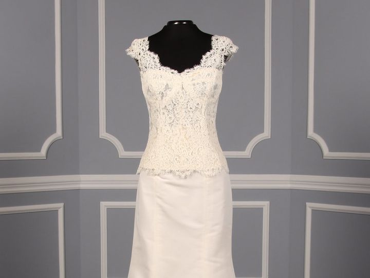 Tmx 1503523371038 Monique Lhuillier Guilana Corset Estelle Skirt Wed Camp Hill, PA wedding dress