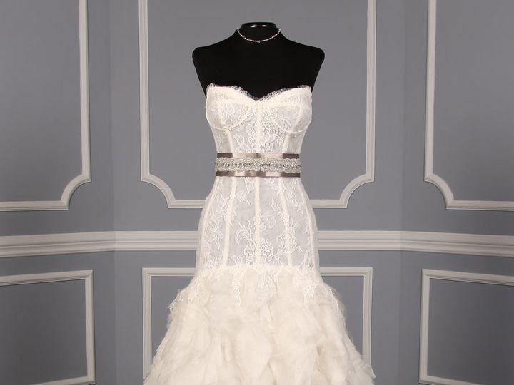 Tmx 1503523501564 Monique Lhuillier Marquee Wedding Dress With Jacin Enola wedding dress