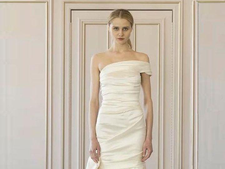 Tmx 1503523933729 Oscar De La Renta Elexis 77n25 Wedding Dress 1 Enola wedding dress