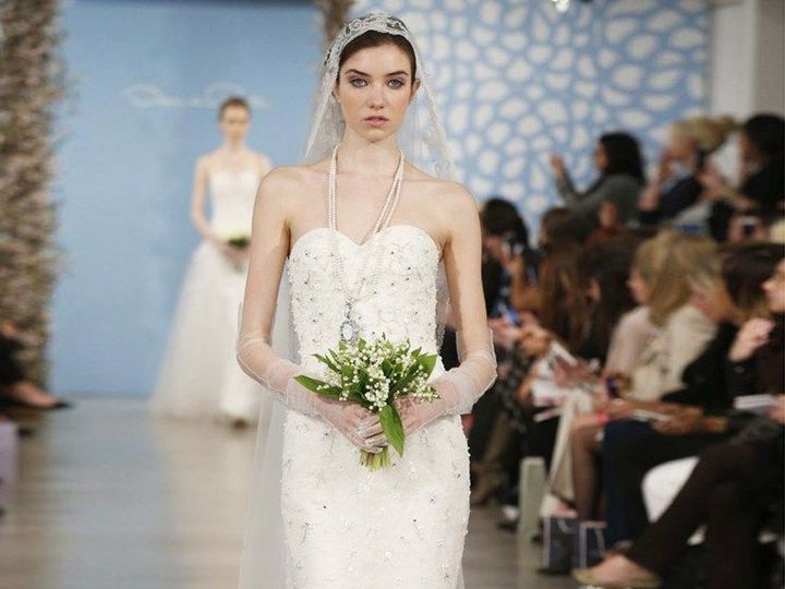 Tmx 1503587983926 Oscar De La Renta Alexa 55e05 Wedding Dress Camp Hill, PA wedding dress