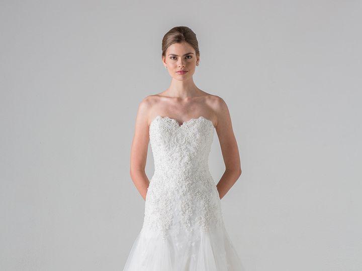 Tmx 1503589753866 P 100379 Annebargediscountweddingdresses1480611160 Enola wedding dress