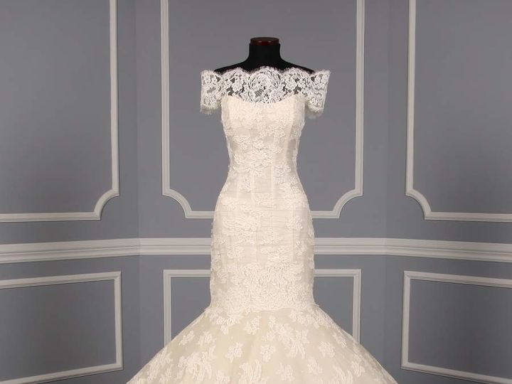 Tmx 1503596514097 Ines Di Santo Iva X Wedding Dress Enola wedding dress