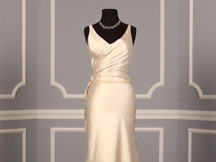 Tmx 1503608393783 Peter Langner Zeta Discount Designer Wedding Dress Enola wedding dress