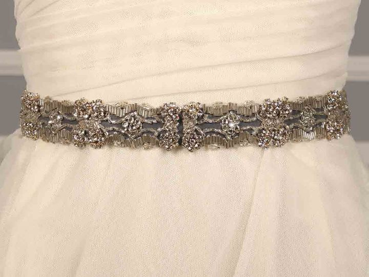 Tmx 1504107514232 P 97230 Ossaidiscountdesignerweddingdresssash Camp Hill, PA wedding dress