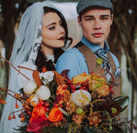 LEO Bride and Groom