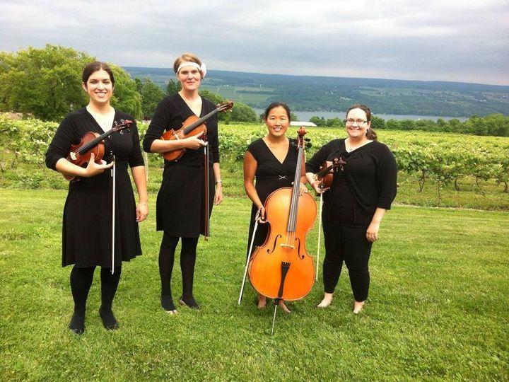 Tmx 1471554667217 Quartet Glenora Rochester wedding ceremonymusic