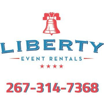 liberty event rentals facebook profile