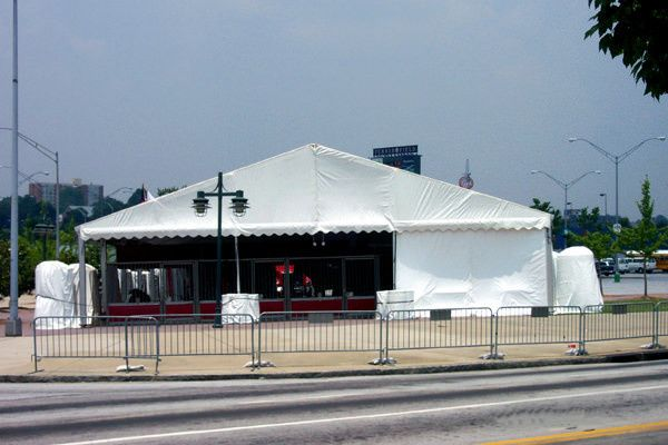 stadium parking lot tent