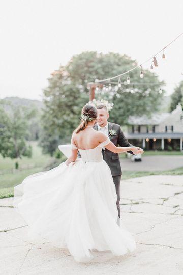 Ponytail bride