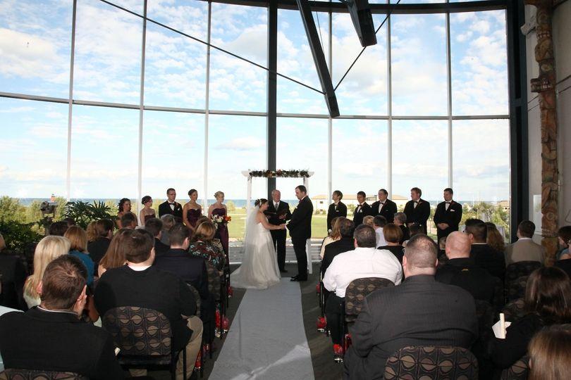 Mezzanine Ceremony