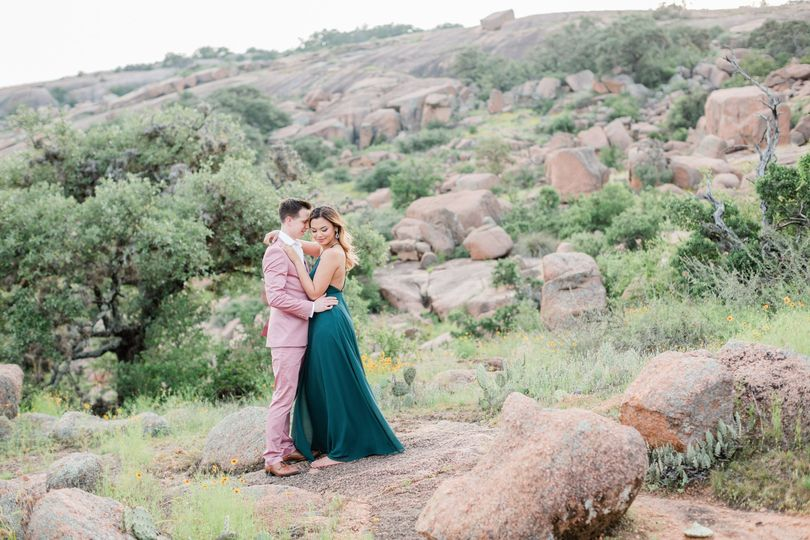 Enchanted Rock engagement