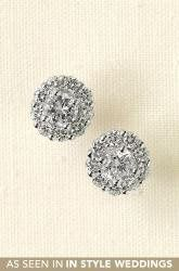 Tmx 1303419672770 GlintFlowerCZEarrings Reading wedding jewelry